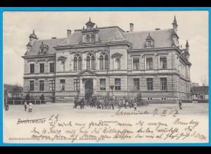 AK Buchsweiler Elsass Frankreich France Gymnasium (1055