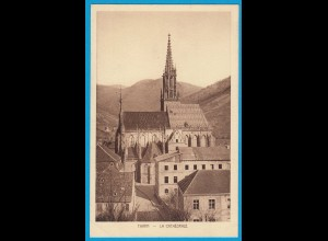 AK Thann Elsass Frankreich France La Cathedrale (1088