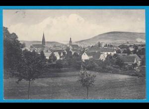 AK Wörth Wœrth Sauer Landesfest Elsass 1912 (1186