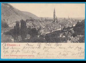 AK Thann i. Elsass Chef-lieu 1903 (1222