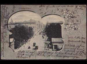 AK Berlin Leipziger Strasse Jugendstil ansehen (8480