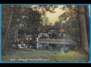 AK Lehde Lědy Lübbenau Lubnjow Restaurant 1912 (1284