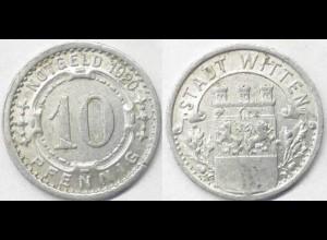 10 Pfg.Notgeld Münze Stadt Witten 1920 (4211