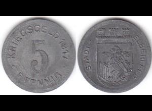 5 Pfennig Notgeld Münze Stadt Elberfeld 1917 (4158