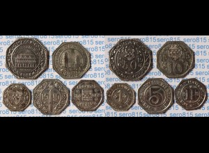 Notgeld Hamm Westfalen Satz 1 - 50 Pfennig 1919 Eisen selten (18340