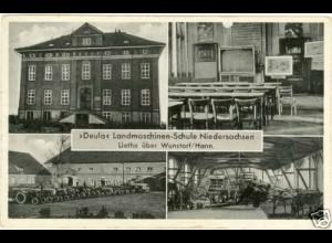 AK Hannover Deula Landmaschinen-Schule Liethe (2229