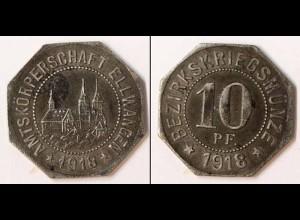 Notgeld Ellwangen Württemberg 10 Pfennig 1918 Eisen (m928