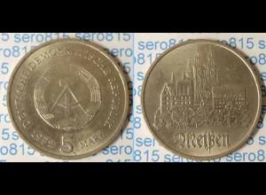 DDR 5 Mark von 1972 Meissen bankfrisch (n206