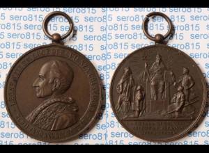 Medaille tragbar Pabst Leo XIII. 1902 39 mm 27 Gramm (n272