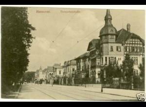 AK Hannover Tiergartenstrasse Strassenansicht (2243