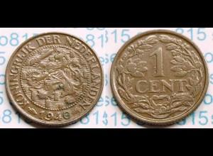 Niederlande NEDERLAND 1 Cent 1940 (m017