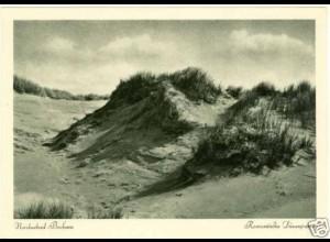 AK Nordseebad Borkum Dünenpartie (2332