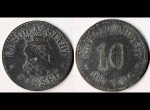 Cassel Kassel 10 Pfennig Notgeld Kriegsgeld 1917 Z (p507