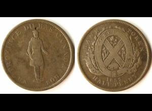 Kanada - Canada 1/2 Penny Token 1837 (r1186