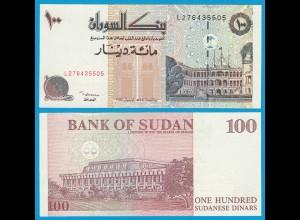 Sudan - 100 Dinars Banknote 1994 Pick 56 UNC (18607