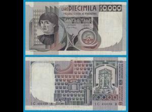 ITALIEN - ITALY 10000 10.000 Lire Banknote 1984 F/VF Pick 106c (18623