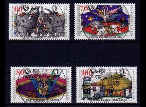 Bundesrepublik 1989 Vollstempel ESST 1411-14 (b146