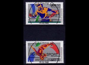 Bundesrepublik 1989 Vollstempel ESST 1408-1409 (b147