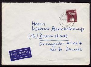 25 Pfg.Berlin Stadtbilder 1957 EINZELFRANKATUR (b242