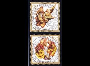 BRD Weihnachten 1989 1442-43 ESST Vollstempel (c005