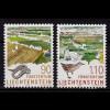 Liechtenstein Nationalparks 1999 Mi. 1190-91 ** (c112