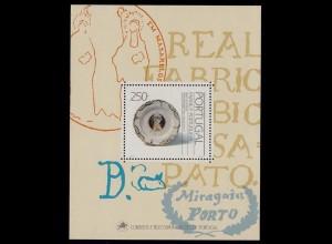 Portugal 1991 Kunst Fayencen Block 76 ** MNH postfrisch (d309