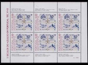 Portugal 1985 Kacheln Azulejos Klbg.1665 ** postfrisch MNH (d324