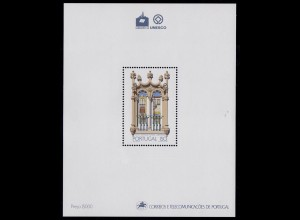 Portugal 1988 Èvora in UNESCO BLOCK 58 ** postfrisch MNH (d331