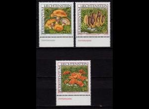 Liechtenstein Seltene Pilze 1997 Mi.1152-54 ** unter Postpreis (c096