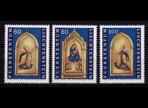 Liechtenstein Weihnachten 1995 Mi. 1120-22 ** unter Postpreis (c081