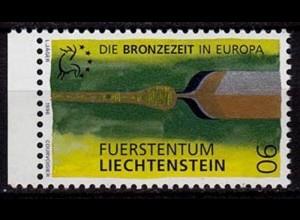 Liechtenstein Die Bronzezeit 1996 Mi. 1128 ** unter Postpreis (c085