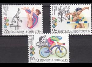 Liechtenstein Sommer Olympiade 1996 Mi.1129-31 ** unter Postpreis (c086