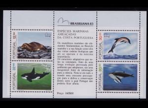 Portugal 1983 Meeressäugetiere Block 41 ** (d299
