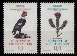 Liechtenstein Europa Cept 1994 Mi.1079-80 ** unter Postpreis (c065