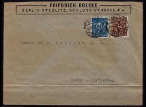 Berlin Steglitz nach Plötzensee 30.5.23 Infla (b657