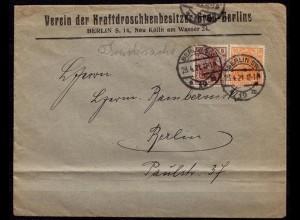 Berlin Kraftdroschken Verein 23.4.21 Infla (b658