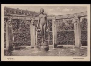 AK Karlsruhe Stephansbrunnen ansehen (8490