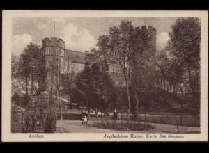 AK Aachen Jagd-Schloss Kaiser Karls der Grossen (8494