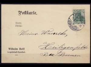 Stassfurt-Leopldshall n. Heiligenfelde 1911 (b813
