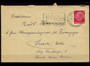 Stuttgart Maschinen-Stempel Reichs-Gartenschau (b683