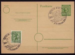 SST Gewerkschaften der SBZ 5 Pfg Ganzsache 1946 (b792