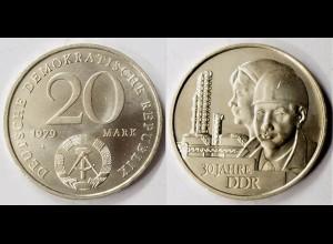 DDR 20 Mark von 1979 30 Jahre DDR bfr. (r351