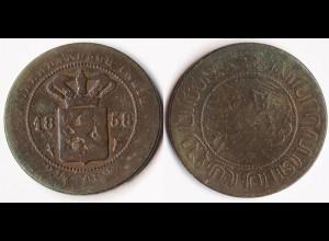 Niederländisch Indien - Nederlands Indie - 2 1/2 Cent 1858 (r360