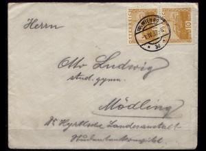 Wien - Mödling Brief 1932 (d028