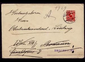 Wien - Rodau Vermählungsanzeige 1929 (d031