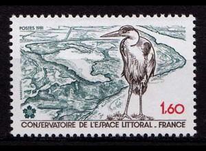 Frankreich Mi. 2272 Vögel Birds Wildlife 1983 ** (b615