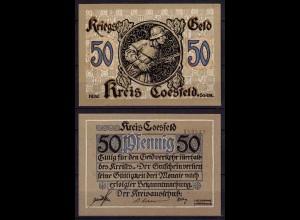 Westfalen - Coesfeld 50 Pfennig (1918) Notgeld Kriegsgeld (c736