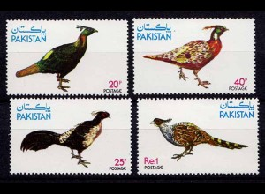 Pakistan Vögel Birds Wildlife Set 1979 ** (b444