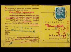 Bomlitz Überstempel Walsrode 1956 Landpost (d034