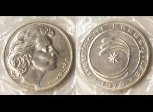 Medaille Deutsche Krebshilfe 1979 Mildret Scheel (r022